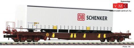 Fleischmann 825050 Konténerszállító négytengelyes zsebeskocsi, T3, AAE, Schenker kamionfé
