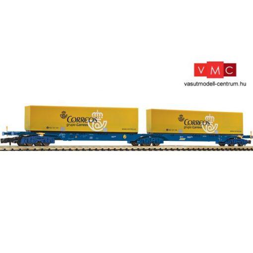 Fleischmann 825336 Konténerszállító iker-teherkocsi, Sggmrs, 2 db 40 lábas konténerrel, R