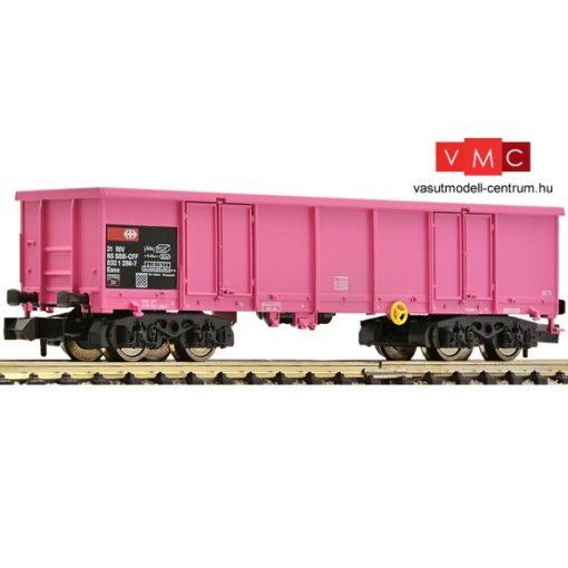 Fleischmann 828336 Nyitott négytengelyes terherkocsi, rózsaszín SBB (E5)