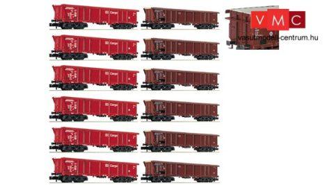 Fleischmann 829350 Rolótetős négytengelyes teherkocsi, Tamns 886, DB AG / DB-Cargo (E5) - Di