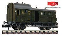 Fleischmann 830201 Fedett tehervonati poggyászkocsi, Pwg, DRG (E2) (N)