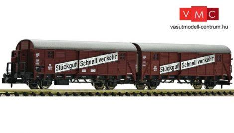 Fleischmann 830603 Leig-Wageneinheit, bestehend aus zwei Güterwagen, Bauart Gllh 12, DB