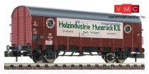 Fleischmann 831406 Fedett teherkocsi, Gl11 (ex Dresden), Holzindustrie Hunsrück K.G, DB (E3) (