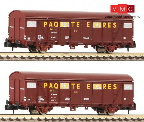 Fleischmann 831510 Fedett teherkocsi-pár, PAQUETE EXPRES, RENFE (E4) (N)