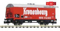 Fleischmann 832601 Fedett sörszállító teherkocsi, Kronenbourg, SNCF (E3-4) (N)