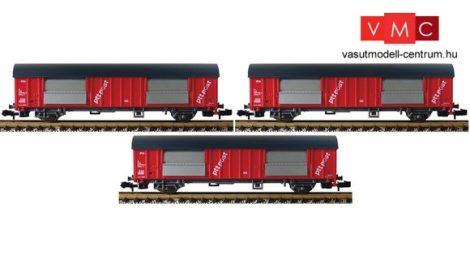 Fleischmann 834801 Fedett postakocsi-készlet, 3-részes, Hbbkkss, PTT Post, NS (E4-5)
