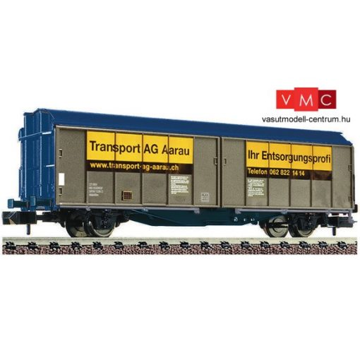 Fleischmann 837305 Eltolható oldalfalú teherkocsi, Transport AG Aarau, privat Schweiz (E6) (N