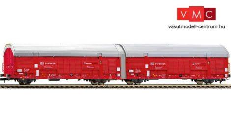 Fleischmann 837406 Fedett iker-autószállító teherkocsi, Hccrrs332, DB AG / DB Schenker (E6)