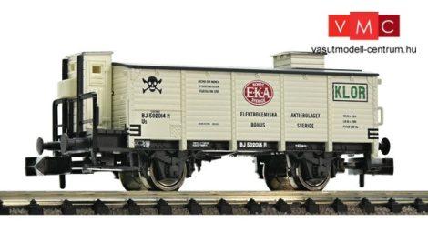 Fleischmann 844905 Gázszállító fedett teherkocsi, SJ, EKA, klór, fékházzal (E3)