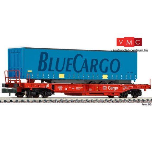 Fleischmann 845367 Konténerszállító négytengelyes teherkocsi, BlueCargo, DB-AG (E6)