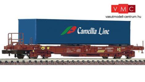 Fleischmann 845368 Konténerszállító négytengelyes zsebeskocsi, Spedition Camellia Line, RE