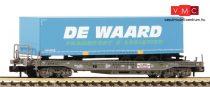 Fleischmann 845369 Einheitstaschenwaggon mit DE WAARD-Aufleger, HUPAC/NS