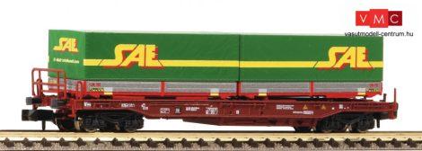 Fleischmann 845370 Konténerszállító négytengelyes zsebeskocsi, SAE, FS (E5) (N)