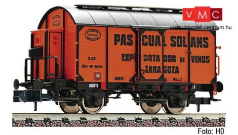 Fleischmann 845704 Fedett borszállító teherkocsi, Pascual Solans, Renfe (E1)