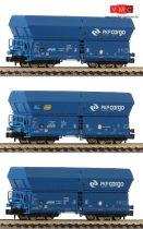 Fleischmann 852328 3-tlg. Set; Großraum-Selbstentladewagen Bauart Falns, PKP Cargo