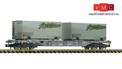 "Fleischmann 865242 Containertragwagen Bauart Sgns ""FATTORINI"", SBB"