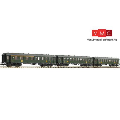 Fleischmann 867710 Személykocsi-készlet, 3-részes 1./2. osztály + 2x 2. osztály, SNCF (E3)