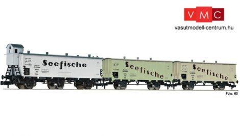 Fleischmann 881810 3-tlg. Güterwagenset Seefische, DRG