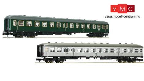 Fleischmann 881812 Sebesvonati négytengelyes személykocsi-pár II., DB (E4) (N)