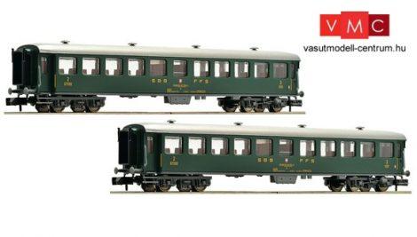 Fleischmann 881814 Gyorsvonati négytengelyes személykocsi-pár, SBB (E4) (N)