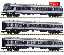 Fleischmann 881903 Személykocsi-készlet vezérlőkocsival, 3-részes National Express, NX Rai
