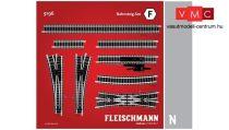 Fleischmann 9196 Sínkészlet F, állomási peronvágányok kiegészítés (N)