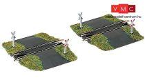 Fleischmann 9199 Egyenes egyszerű útátjárós sínek hurokvágányhoz, 2 x 55,5 mm, ágyazat