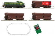 FLEISCHMANN 931604 Analóg kezdőkészlet: RENFE Serie 307 + tehervonat