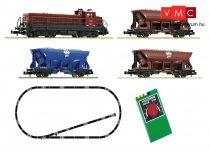 FLEISCHMANN 931701 Analóg kezdőkészlet: Dízelmozdony Em 4/4 tehervonattal, ovál pályával