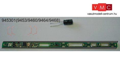 Fleischmann 945301 Belső világítás személykocsikhoz, villogásmentes LED (9453, 9460, 9464