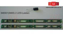 Fleischmann 946501 Belső világítás személykocsikhoz, villogásmentes LED (9465 kiváltása