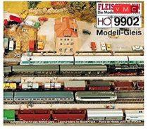 Fleischmann 9902 Fleischmann Modell-sínrendszerhez pályatervek, H0  - angol, német, francia