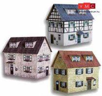 Heki 10010 Városi emeletes ház (3 db), kartonból