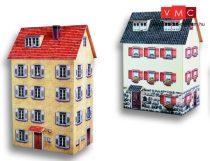 Heki 10040 Városi emeletes ház (2 db), kartonból