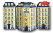 Heki 10050 Városi emeletes sarokház, kartonból
