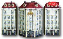 Heki 10060 Városi emeletes sarokház, kartonból