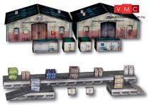 Heki 10600 Raktárépületek rakodórámpával, kartonból