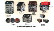 Heki 11002 Városi emeletes házak, melléképületek és garázsok kartonból