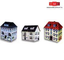 Heki 11005 Bank, iskola és városi ház kartonból