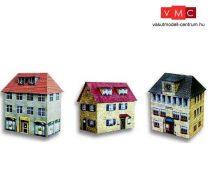 Heki 11006 Posta, városháza és városi lakóház kartonból