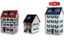 Heki 11007 Városi emeletes lakóház (3 db), kartonból