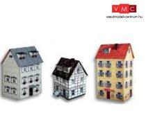 Heki 11008 Városi emeletes lakóház (3 db), kartonból