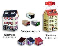 Heki 11009 Városi emeletes házak, melléképületek és garázsok kartonból