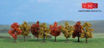 Heki 1141 Lombos fa (8db), őszi színek, 4 cm magas