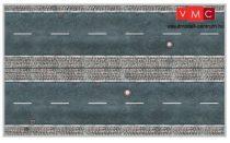 Heki 12050 Városi úttest járdával (3 db) kartonból
