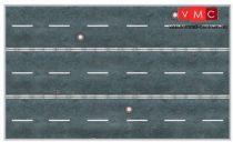 Heki 12051 Városi úttest (3 db) kartonból