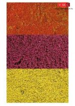 Heki 1585 Téphető virágszőnyeg: vegyes színek, 28x14 cm
