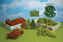 Heki 1631 Természetes kreatív lombos fa és bokor (15 db), világoszöld