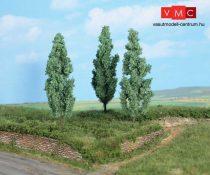 Heki 1782 Ezüstnyárfa, 3 db, 13 cm (H0/TT)
