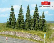 Heki 2052 Fenyőfa talp nélkül (55 db), 12-18 cm